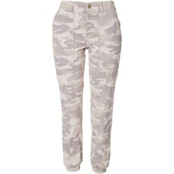 Democracy Womens Camo Jogger Pants