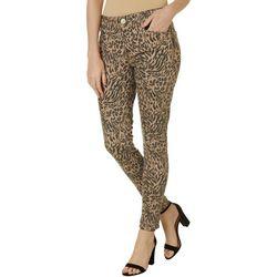Womens Ab-solution Leopard Print Jeans