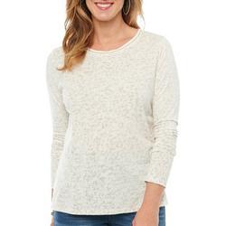 Womens Animal Printed Long Sleeve Top