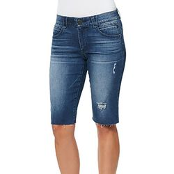 Democracy Womens Ab-solution Whisker Bermuda Shorts