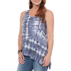 Womens Active Tie Dye Tank Top