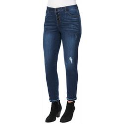 Democracy Womens Ab-solution Button Fly Jeans