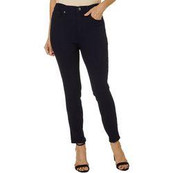 Vintage America Womens High Rise Skinny Jeans