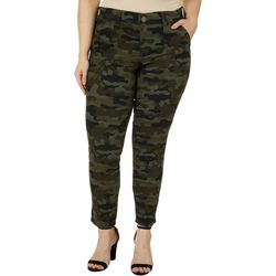 Womens Camo Print FAB Skinny Jeans