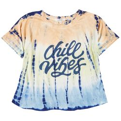 Southern Spirit Womens Chill Vibes Tie Dye T-Shirt
