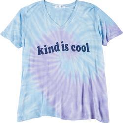 Dreamsicle Juniors Kind Is Cool Tie Dye T-Shirt