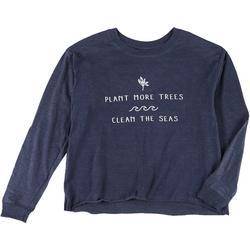 Juniors Plant Trees Clean Seas Top