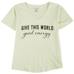 Southern Spirit Womens Give This World Good Energy T-Shirt