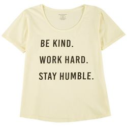Southern Spirit Womens Be Kind. Work Hard. T-Shirt