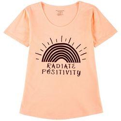 Womens Radiate Positivity T-Shirt