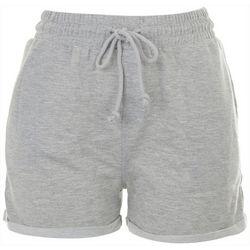 HYFVE Womens Soft Rolled Cuff Hemline Shorts