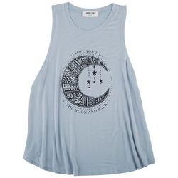 DOUBLE ZERO Womens Screen Print Tank Top