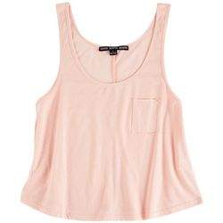 HYFVE Womens Solid Tiered Tank Top