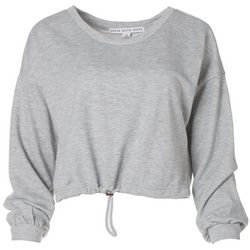 HYFVE Womens Solid Cropped Sweater