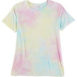 WORKSHOP Womens Tie Dye Short Sleeve T-Shirt