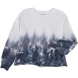 For The Republic Womens Tie Dye Sweatshirt