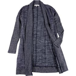 Workshop Womens Heathered Shawl Cardigan