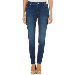 Curve Appeal Womens High Waist Skinny Jeans