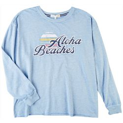 C&C California Womens Aloha Beaches Sweatshirt