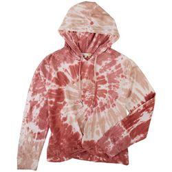 C&C California Womans Tye Dye Hoodie Jacket