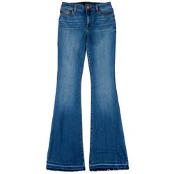 Sanctuary Womens Denim Flared Jeans