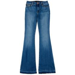 Womens Denim Flared Jeans