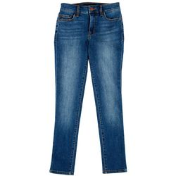 Sanctuary Womens Denim Faded Crop Jeans