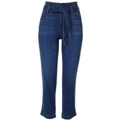 Sanctuary Womens Denim Tie Front Jeans