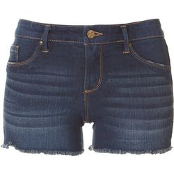 Jessica Simpson Womens Denim Frayed Shorts