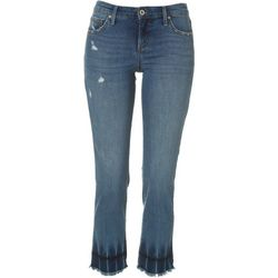 Jessica Simpson Womens Arrow Straight Denim Jeans