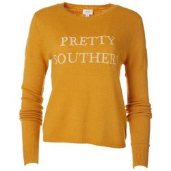 Lelis By Gilli Womens Pretty Southern Sweater