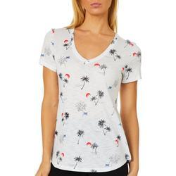 Womens Americana V-Neck Shirt