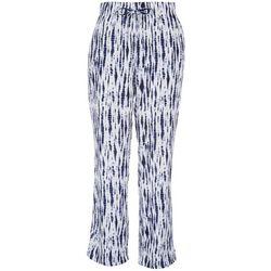 Per Se Womens Printed Loose Pants