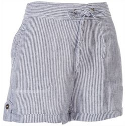 Per Se Womens Roll Cuffed Rustic Shorts