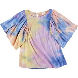 Ava James Womans Rainbow Clouds Top