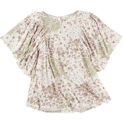 Ava James Womans Floral Top