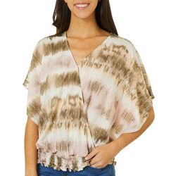 Dept 222 Womens Tie Dye Short Sleeve