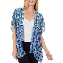 Dept 222 Womens Tile Print Kimono