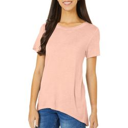 Dept 222 Mineral Wash High Low Short Sleeve