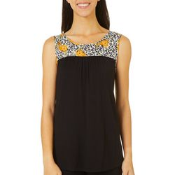 Dept 222 Womens Keyhole Back Tie Top