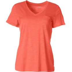 Dept 222 Womens Single Chest Pocket T-Shirt