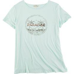 Flora & Sage Womens Paradise T-Shirt