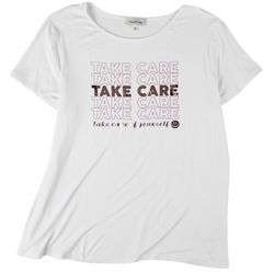 Flora & Sage Womens Take Care Of Yourself T-Shirt