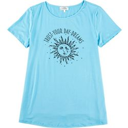 Flora & Sage Womens Trust Your Day Dreams T-Shirt