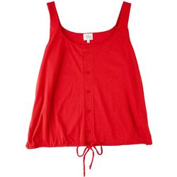 Ava James WomenS Solid Sleevless Top