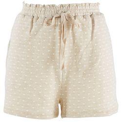 Blu Pepper Polka Dot Drawstring Shorts
