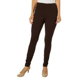 Khakis & Co Womens Solid Jegging Pants