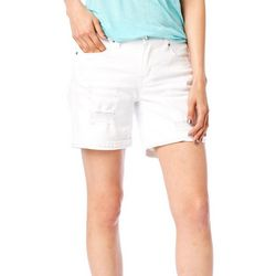 Supplies by Union Bay Womens Ripped Solid Shorts