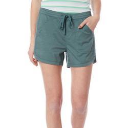 Unionbay Juniors Elastic Waist Cotton Shorts