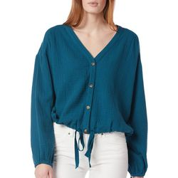 Supplies By UnionBay Womens Cotton Long Sleeve Top